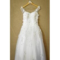 Vestido De Noiva Importado Usado Uma Vez Barato