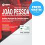 Apostila Prefeitura De João Pessoa Pb -  Auditor Municipal
