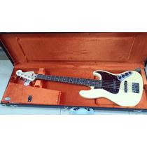 Contrabaixo 5c Ativo Fender Deluxe Active Jazz Bass V Mx