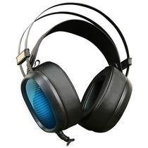 Headset Gamer Usb Mesh Poseidon 7.1 Canais Preto Para Pc
