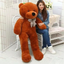 Urso Gigante Pelucia Teddy Bear - 1 Metro E 20cm Cheio 1,2m