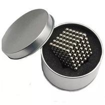 Cubo Magnético Neocube Imã 5mm 216 Esferas-prata