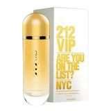 Perfume 212 Vip Feminino 125ml Edp - 100% Original + Brinde