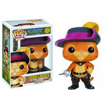 Desenho Gato De Botas Do Shrek Disney - Funko Pop