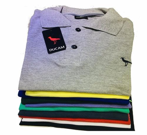 4b7588672658e Kit 10 Camisa Polo Masculina  Frete Grátis  Atacado Revenda. R  196.35