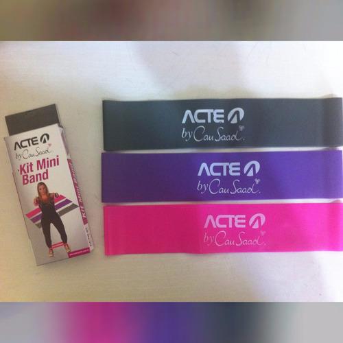 3fed9e016 Comprar Kit 3 Mini Band Faixas Elásticas Thera Band - Acte Cau Saad -  Apenas R  39