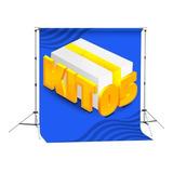 Kit 05 Fundos Fotográficos Em Tecido - 1,5x2,2m - À Escolher