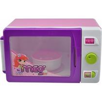 Microondas Meg De Brinquedo - Magic Toys
