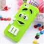 Capa Case Capinha Silicone 3d Mms Chocolates Iphone 6 Plus