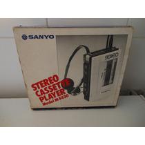 Walkman Sanyo Stereo Cassette Player Model M4430 Fone Origin