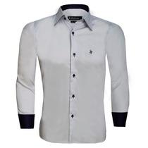 Camisa Social Masculina Slim
