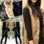 Colete Pelo Feminino Pêlo Pelucia Sintético Pelos Fake Lindo