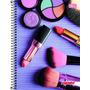 Caderno 1 Matéria 96 Fls Linha Mais+ Feminino Maquiagem 2016