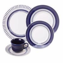 Aparelho Jogo De Jantar Chá 30 Peças, Oxford Porcelana Louça