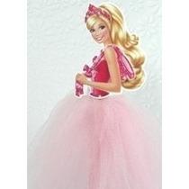 Festa Barbie Sapatilhas Magicas Topo De Bolo - 20 Cm