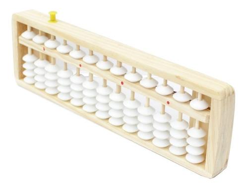 Soroban Ábaco Zerador Madeira Calculadora Japonês 13 Dígitos