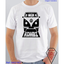 Camiseta Personalizada Estampa De Carro Kombi
