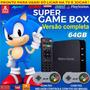 Super Game Box   Video Game Retro Com Jogos Antigos 64gb