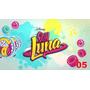 Painel Em Lona Soy Luna 05 - 3:50x2:00 1 Peça