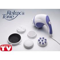 Relax Spin Tone Massageador Elétrico Corporal Sculptor Body
