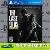 The Last Of Us Remastered Ps4 Jogo Digital Envio Em 10 Min!