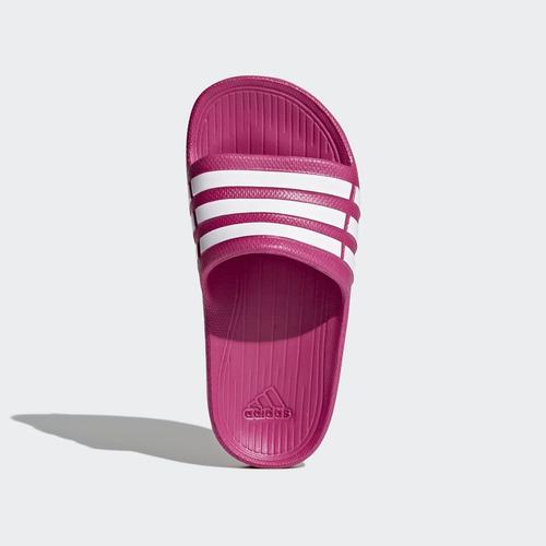 cf83470536a Chinelo adidas Duramo Slide K Infantil - Rosa