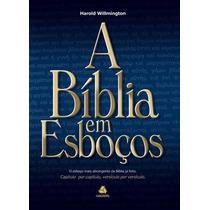 A Bíblia Em Esboços Livro