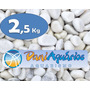 2,5 Kg Pedras Para Jardins, Seixo Branco, Decoração, Aquário