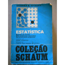 Coleção Schaum- Estatística- Resumo Teoria- Murray R Spiegel