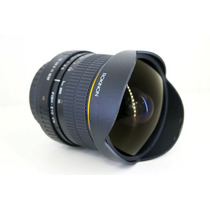 Lente Rokinon Sony Alpha A-mount 8mm F/3.5 Wide Olho Peixe