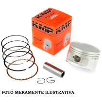 Pistao C/ Aneis Honda Cbx 200 Strada (kit) 3,00mm - Kmp