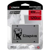 Hd Ssd 120gb Sata3 Kingston Uv500 Melhor Q A400 Lacrado