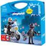 Playmobil Maleta Polícia - Policial E Ladrão Código 5891