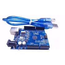 Arduino Uno R3 Smd + Cabo Usb + Tutorial
