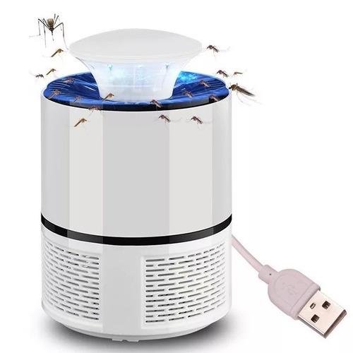 Lampada Mata Mosquito Eletrônica White Envio Rápido