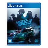 Jogo Need For Speed Ps4 Playstation 4 Mídia Física Original Lacrado Pronta Entrega