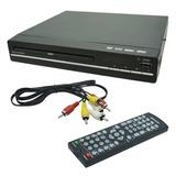 Dvd Player 3x1 Multilaser Usb Dvd Cd E Ripping Sp252