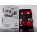 Lanterna Traseira Trafic 95/96/97/98/00 Fume - Acrílico Novo