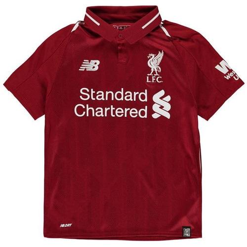 8846d2068 Uniforme Infantil Do Liverpool 2018 Mega Oferta Da Semana