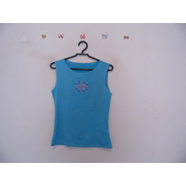 Blusa Feminina Azul Inglaterra Cód. 534