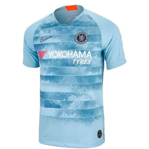 aee6efd493 Camisa Chelsea Trird Azul Bebe 18-19 ( Pronta Entrega ). R  135