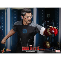 Hot Toys Iron Man 3 Tony Stark Robert Downey Jr Avengers