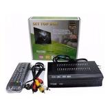 Set Top Box Receptor Tv Digital Multimídia Com Gravador