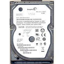 Hd Notebook Seagate Sata 80gb Modelo St 980310as