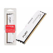 Memória Kingston 4gb 1866mhz Ddr3 Hyperx Fury White Series