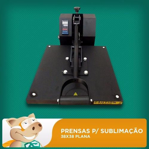 Prensa Térmica 38x38 Plana Sublimação - Personalizado 4e8f1f1b93e