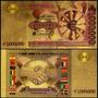 European Union 1.000.000 Euros Ouro 24k Color Ce-16c * C O L