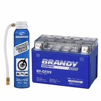 Bateria Gel Brandy Moto Shadow 600 By-gtx9 + Repadador