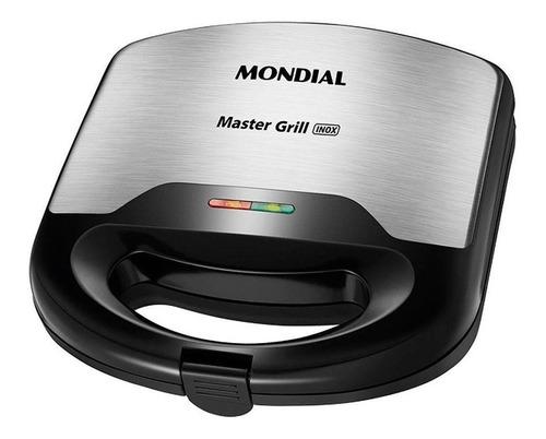 Sanduicheira Master Grill Mondial Inox S-20 - 110v