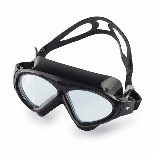 85878143a Oculos Natação Mormaii Orbit Todo Preto Lentes Fumê Original